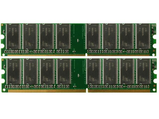 NEW! 2GB (2X1GB) DDR Memory eMachines T5026