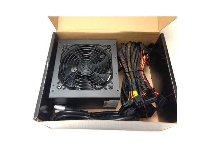 800W Gaming 120MM Fan Silent ATX Power Supply SATA 12V