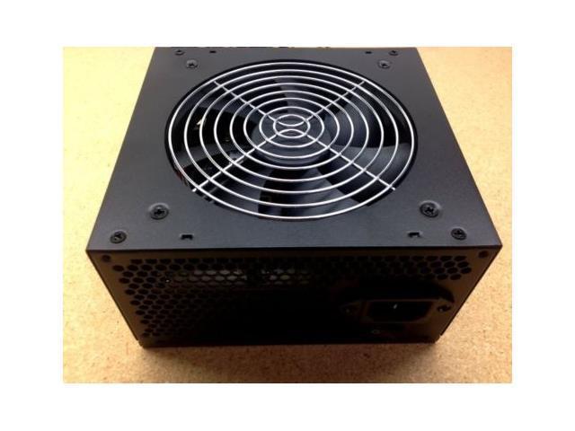 450 Watt 450W ATX 120MM Fan Grill POWER SUPPLY for Intel AMD Desktop PC Black