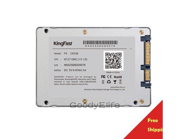 F6 120GB 2 5 SATA Kingfast SSD Dell HP Lenovo ASUS Acer thinkpad Laptop PS3 Shipped From HK