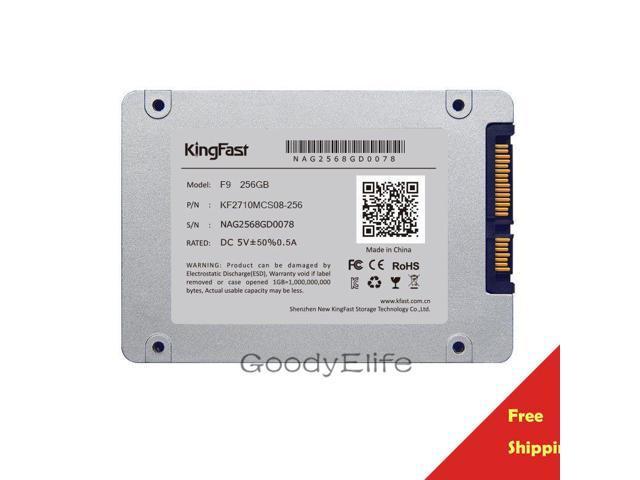 F9 256GB 2 5 SATA Kingfast SSD Dell HP Lenovo ASUS Thinkpad Laptop PS3 PS4 Shipped From HK