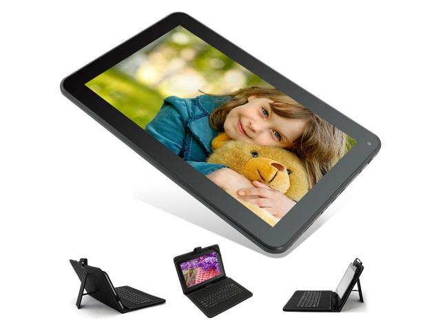 10.1'' Quad Core Android 4.4 KitKat Tablet 8GB Bluetooth Cortex A7 w/ Keyboard