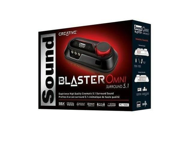 Creative Sound Blaster Omni USB Surround 5.1 External Sound Card SB1560