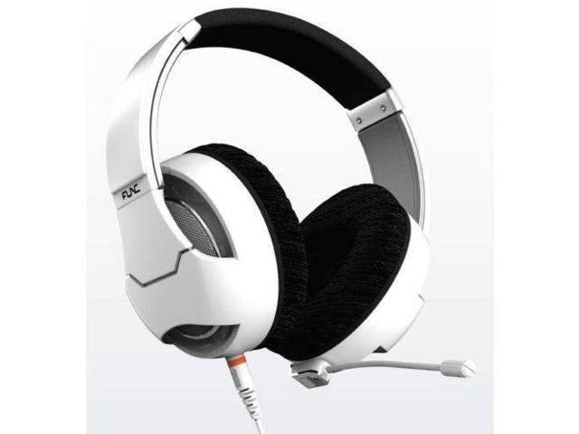 FUNC HS-260 Wired 3.5mm Gaming Headset w/ Microphone (White)