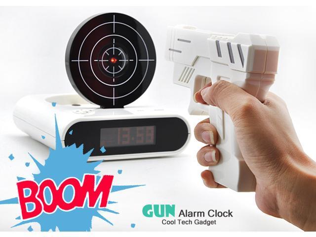 Gun Style Alarm Clock (2.3