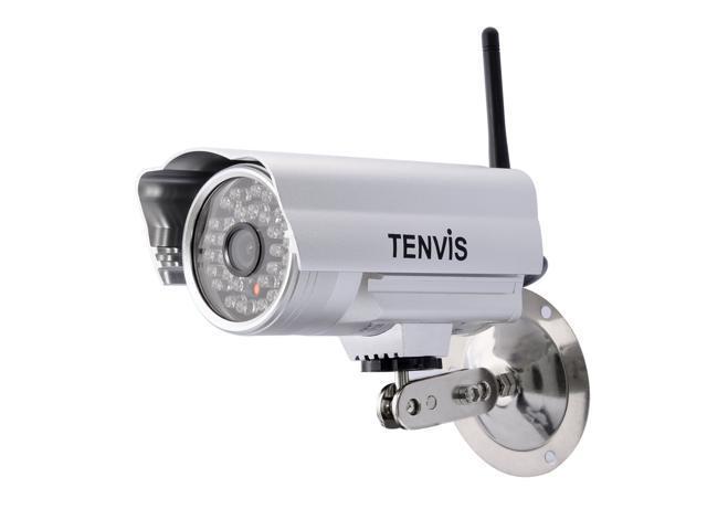 Tenvis - WiFi Wireless IP Camera (1/4 CMOS, 30 IR LED Night Vision)