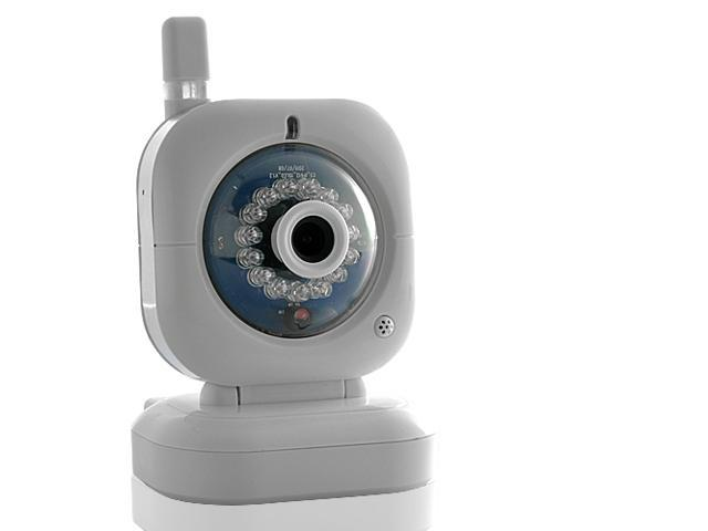 Nightvision IP Security Camera - Wired and Wireless Use