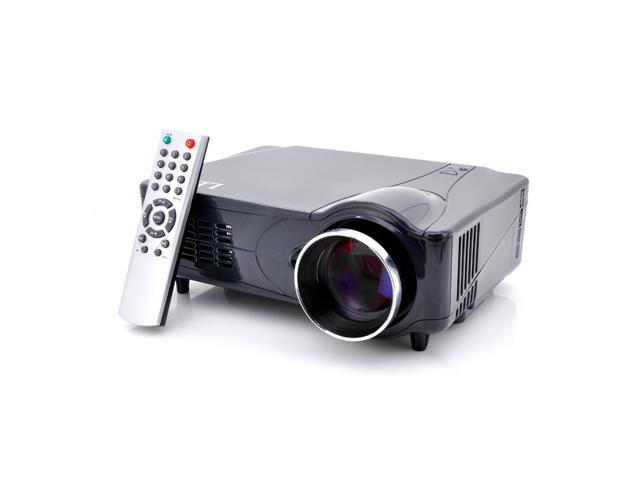 1080P LED Home Theater Projector (2200 Lumens, Analog TV, HDMI/VGA/AV/YPrPb Input)