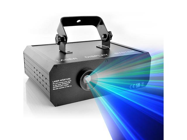 Sound Activated RGB 3D Laser Projector with Full Color Animation (500mW, DMX link)