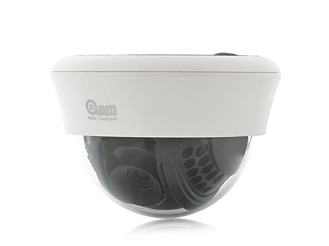 NEO Coolcam NIP-12 - 1/5 Inch Dome IP Camera (Plug & Play, 640x480, 22 IR LEDs, Night Vision)