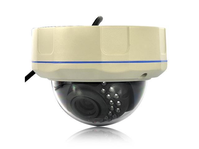 Miro - 2.0MP 1/4 Inch CMOS HD IP Camera (30 IR LEDs Night Vision, Motion Detection)