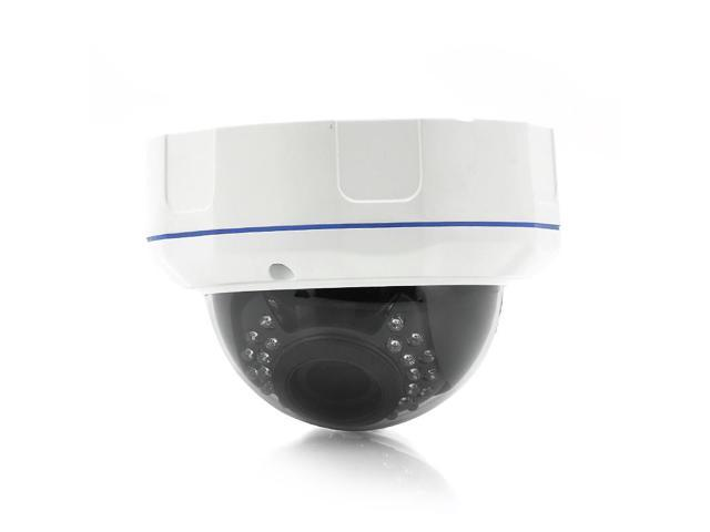 1/3 Inch CMOS Dome IP Camera (1280x720, 1MP, IR-Cut Night Vision, Motion Detection)