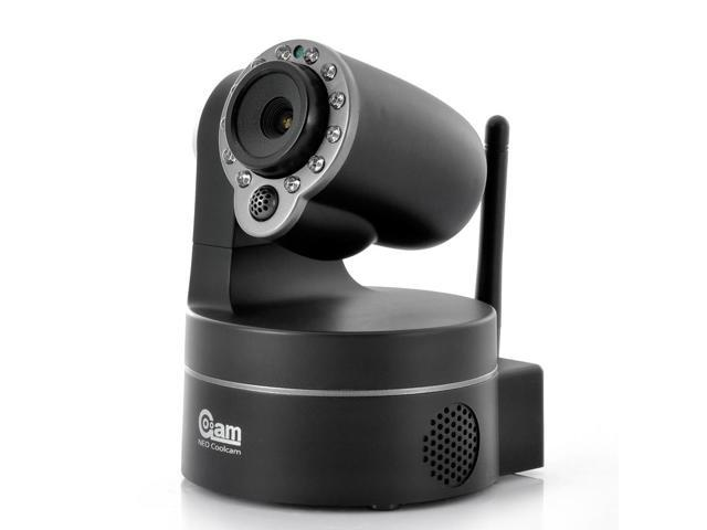 NEO Coolcam NIP-09 IP Camera For iPhone/iPad/Android (Pan/Tilt, 1/4 Inch CMOS, Night Vision)