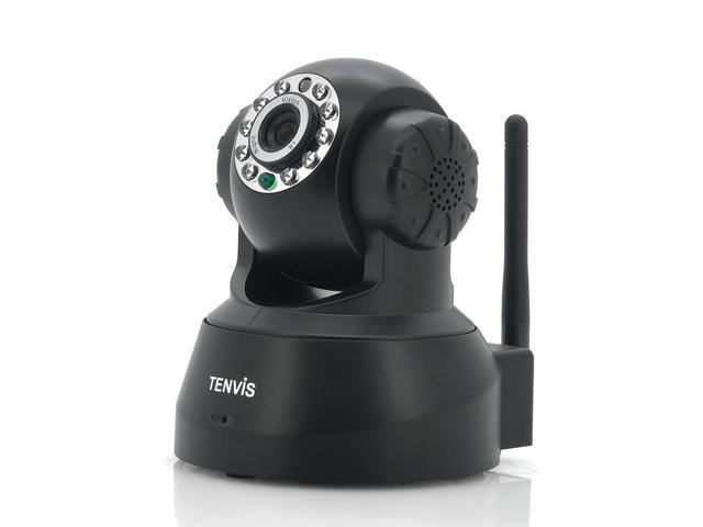 Tenvis View - Two Way Audio IP Camera (1/4 Inch CMOS, 10m Night Vision, 10 IR LEDs)