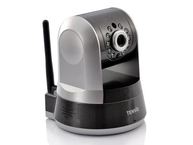 Gator - 720p Wireless PTZ IP Camera (1/4 Inch CMOS, 5x Digital Zoom, IR Cut)