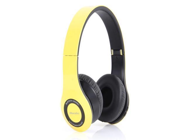 Bluedio Model B2 Revolution Color Music Hi-Fi Rank Wireless Bluetooth Headphones - Yellow