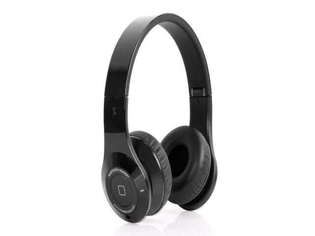 Bluedio B2 Revolution Color Music Hi-Fi Rank Wireless Bluetooth Headphones - Black