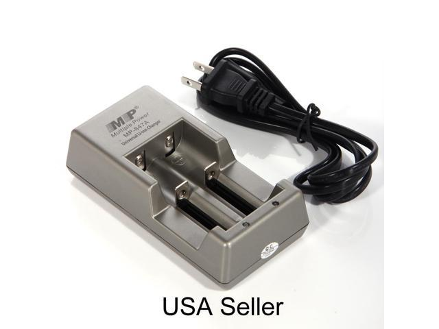 New 100V~240V Battery Charger for 3.7V 18650 18490 Rechargeable Battery