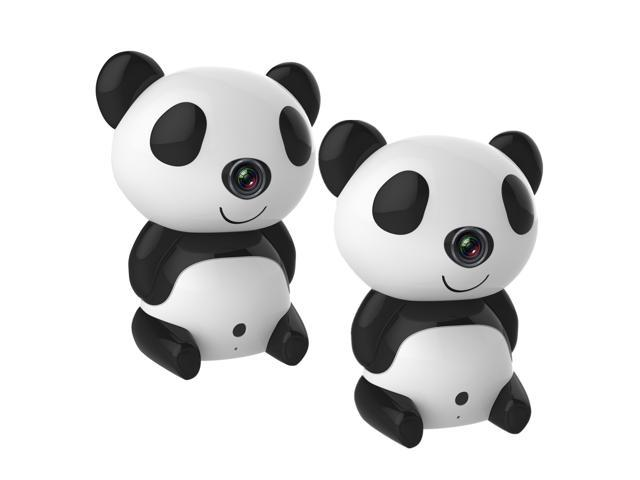 Annke® 2 Pack Wireless 1.0 Megapixels 1280x720 Network HD IP Camera Baby Monitor with P2P Scan QR Code & Connect Easy Setup Home Remote ...
