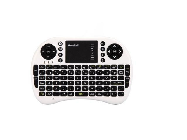 Hausbell ® Mini H7 2.4GHz Wireless Entertainment Keyboard with Touchpad for PC, Pad, Andriod TV Box, Google TV Box, Xbox360, ...