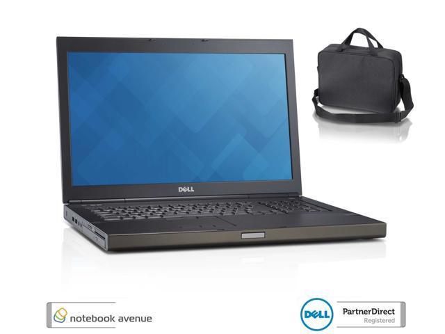 Dell Precision M6800 Intel Core i5 4200M 2.5GHz 8GB RAM / 500GB SSD Hybrid Drive, Win 8 Pro, Webcam, Wifi, BT, DVDRW, 3 Year Dell ...