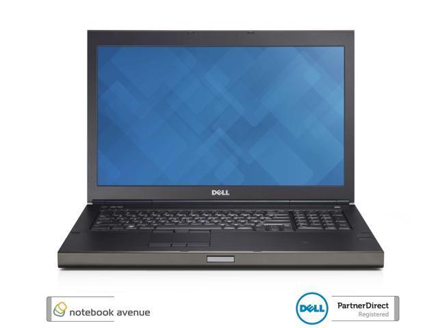 Dell Precision M6800 Core i5 4200M 8G / 500G SSD Hybrid Drive Win 8 Pro Webcam Wifi BT DVDRW 17.3