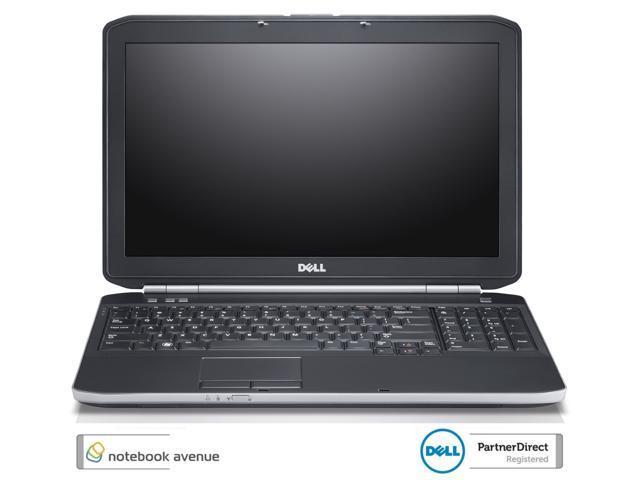 Dell Latitude E5530 Intel Core i5 3230M 2.5GHz 4GB 320GB 15.6