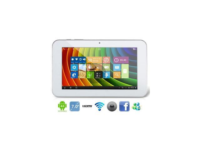 Ampe A76 Fashion Dual Core 7 Inch AllWinner A20 1.2GHz Tablet PC 512MB/8GB Android 4.0 WIFI