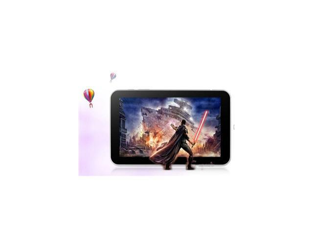 7 Inch Sanei N77 Fashion Version Allwinner A13 1.0GHz Single Core 7inch Android 4.0 Tablet PC RAM 512MB ROM 8GB WIFI
