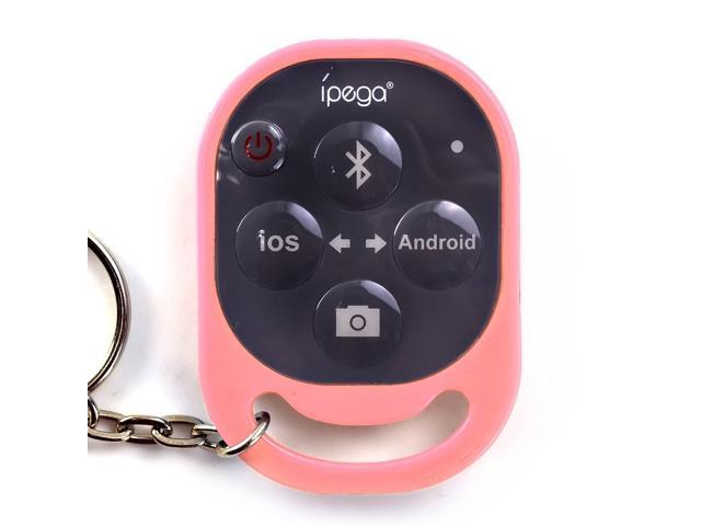 Pink IPEGA PG-9019 Bluetooth Remote Control Self-timer Camera Wireless Shutter Snapshot Camera Control for iOS / Android Phone