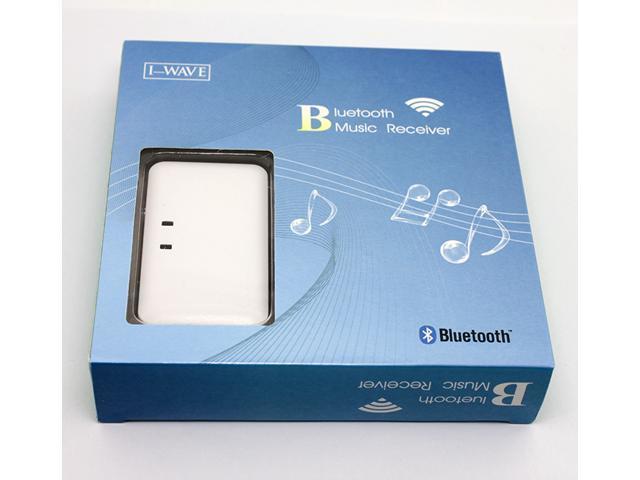 Universal Bluetooth Music Receiver Adapter I-WAVE Music Audio Receiver Wireless Stereo Bluetooth Receiver For iPod iPhone Smart Phone PC Computer