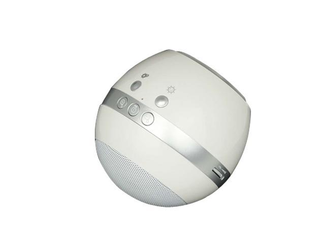 3301 Rechargeable Round Shaped LED Colorful Mood Light Audio Speaker with FM Radio for MP3 /PC /Cell Phones
