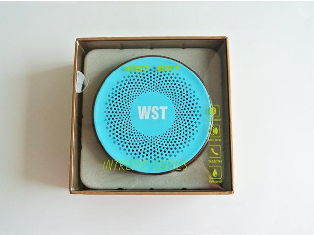 Intrepid Series Waterproof Bluetooth Speaker with Suction Cup for iPhone iPad Other Bluetooth Mobile Phone Support Handfree Function WST-827