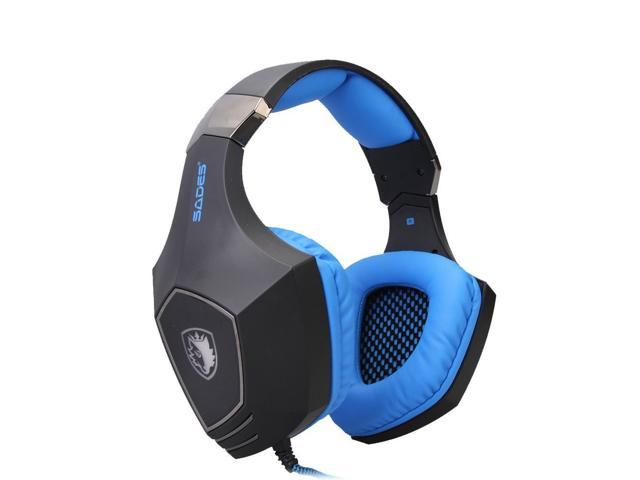 SADES A60 Game Headphone Vibration Function and 7.1 Surround Sound Professional Gaming Headphone Game Headset