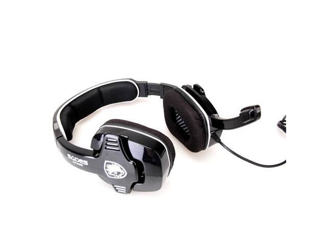 SADES SA-922 Multi-Function Gaming Headphone Compatible with PC/PS3/XBOX Stereo Earphone with MIC