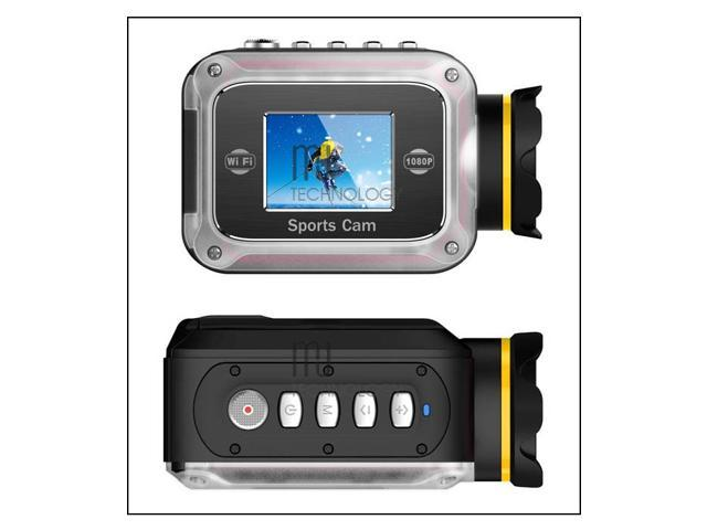 Portable Full HD 1080P Underwater Action Camera DV Camcorder with Wifi Support Control by Phone/Tablet GW200