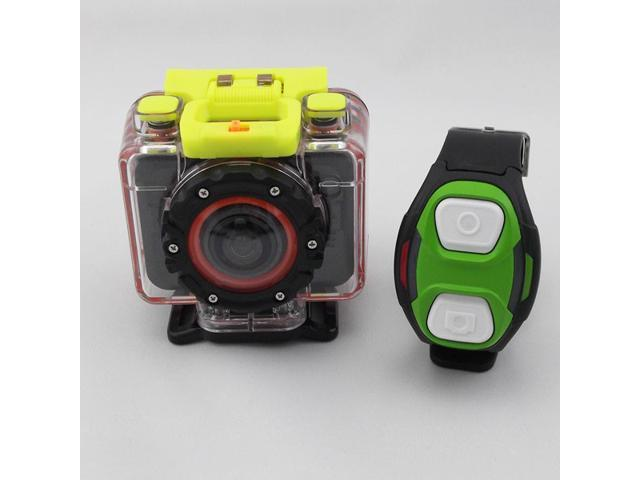 Waterproof Sport Action Camera T10W HD 1080P Diving Marine Bike DV Camcorder with Remote Watch