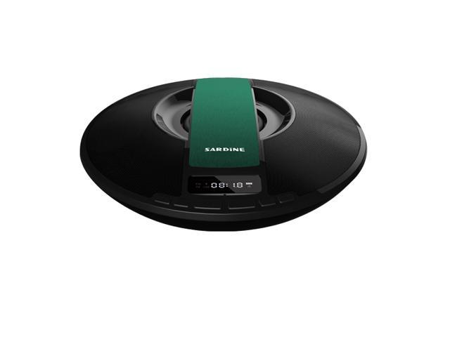 HiFi Bluetooth Speaker FM Radio SDY-021 Wireless USB Amplifier Stereo Sound Box LED Screen Alarm Clock,Time,3000mah