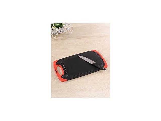 Homebird Red Safe Durable Bamboo Cutting Board Practical Houseware Pretty Good
