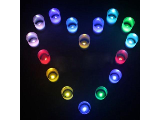 Valentine's day special: 10 PCS Automatic color-changing Voice-activated Candle Light
