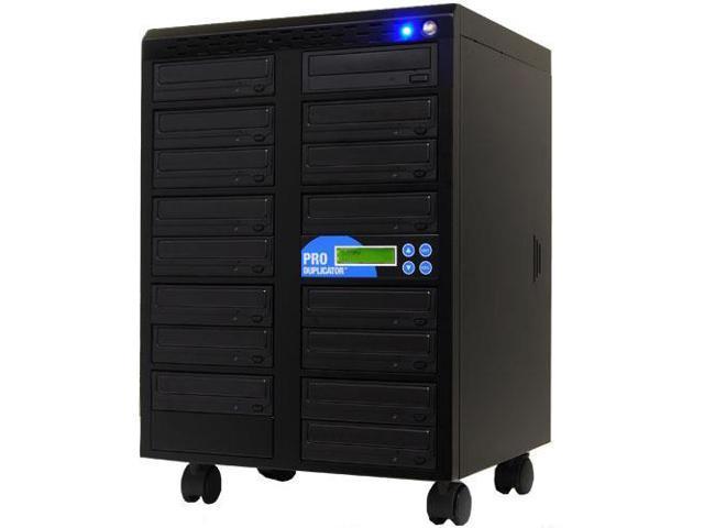 Produplicator 1-15 Target Blu-ray BDXL BD CD DVD Copier Duplicator 14x SATA Blu ray Burner