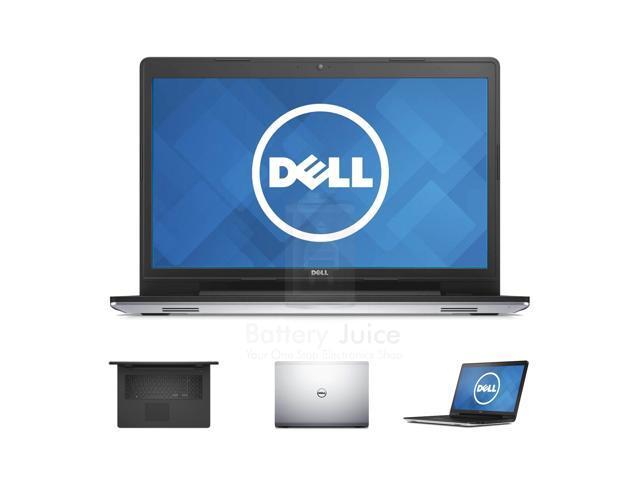 """Dell Inspiron 17 5748 17.3"""" i5-4210U 8GB DDR3 1TB Hard Bluetooth 1.7GHz, 8X DVD, LED Backlit Display 1600 x 9000, Win 8.1 - Silver"""