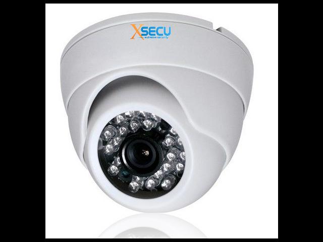 CCTV 800TVL Weatherproof Dome Camera With HDIS IR Cut up to 65' IR Night Vision