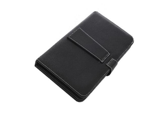 9 inch Folding PU Leather Micro USB Keyboard With A Stylus Pen for Tablet PC MID