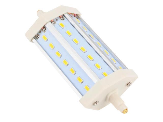 Low Power Consumption 85-265V R7S 9W SMD 21 LED Bulb Lamp Warm White Light