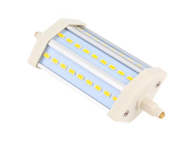 Modern Compact 85-265V R7S 10W SMD 27 LED Bulb Lamp Warm White Light