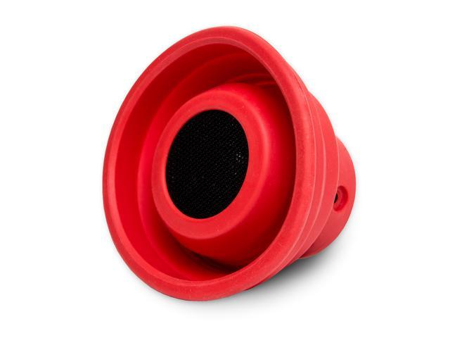 Oblanc SY-SPK23055 X-Horn Collapsible Portable Bluetooth Speaker - Red