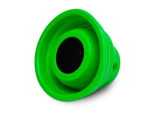 X-Horn Collapsible Portable Bluetooth Speaker (Green)