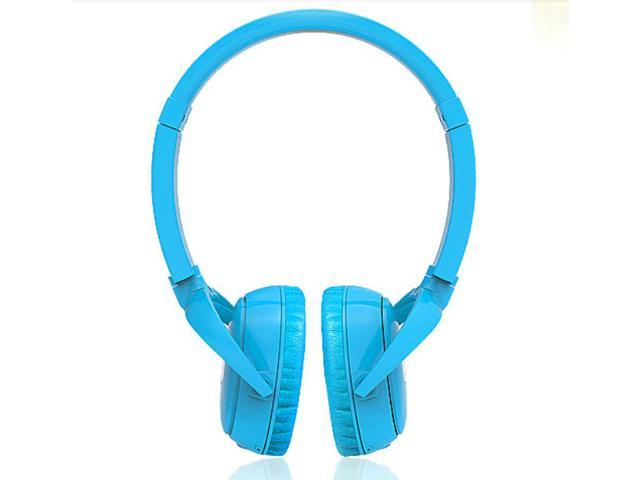 Syllable wireless bluetooth headphone noise reduction headsets for iphone 4 5 samsung cellphone with microphone blue stereo earphone earbuds