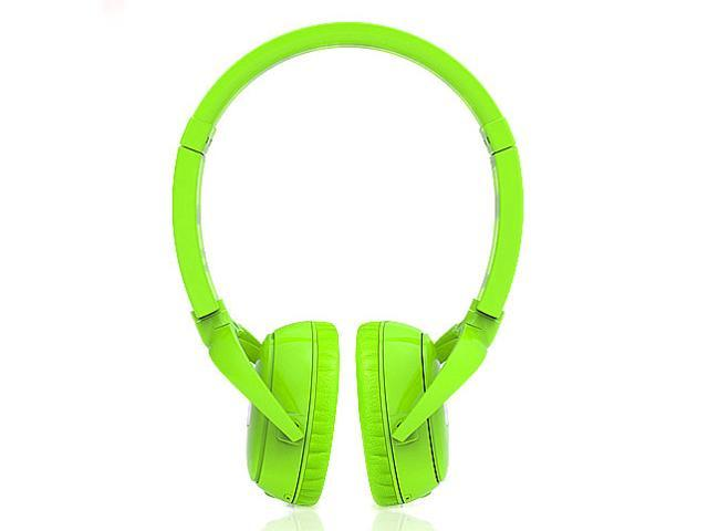 Syllable wireless bluetooth headphone noise reduction headsets for iphone 4 5 samsung cellphone with microphone green stereo earphone earbuds ...